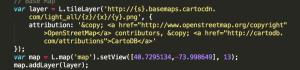 CartoDB Version of Code