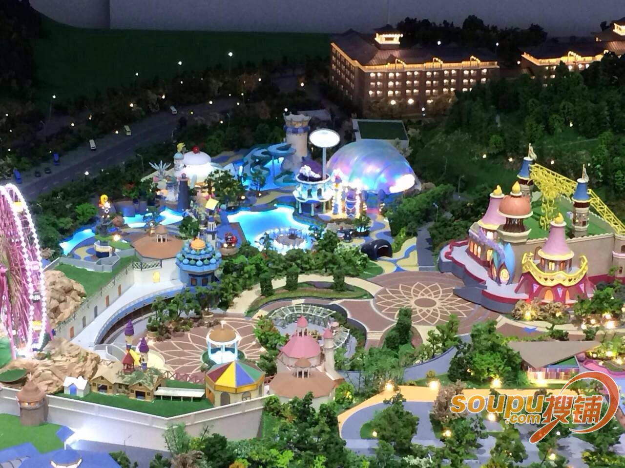 Hello Kitty Theme Park, Image Source: http://www.vhcoasters.com/?p=2515